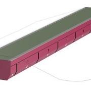Metalldetektor zum Schutz von Maschinen