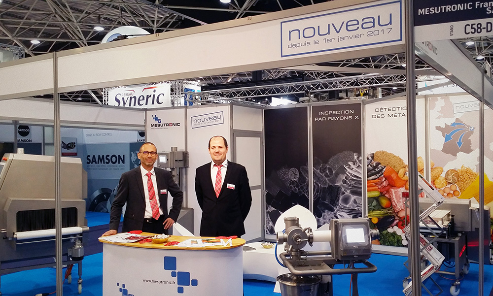 Our team at the Europack Euromanut CFIA Lyon