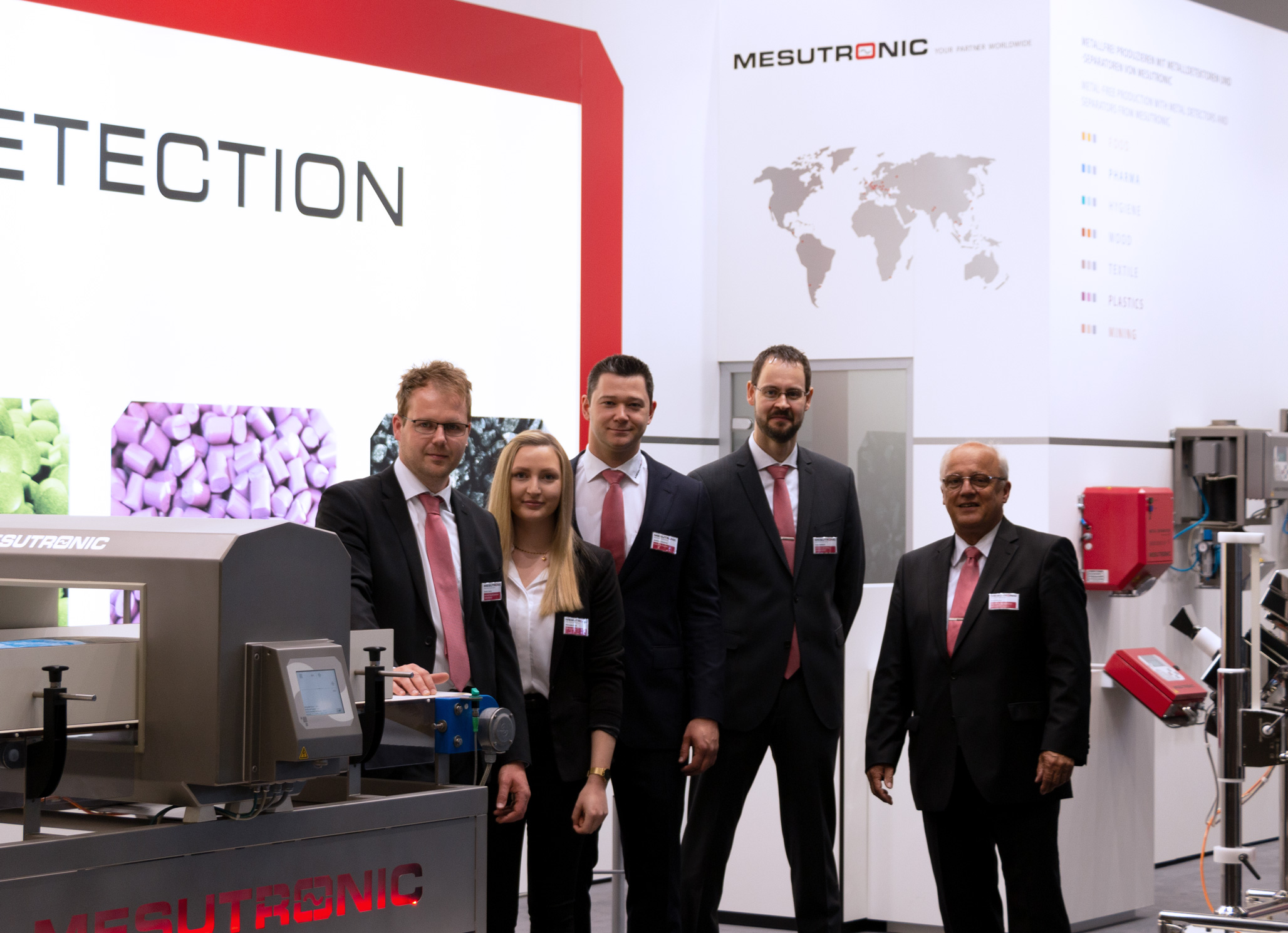 MESUTRONIC at POWTECH 2019